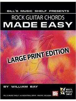 Rock Guitar Chords Made Easy Books | Guitar