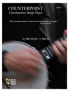 Counterpoint - Clawhammer Banjo Duets Books   Banjo
