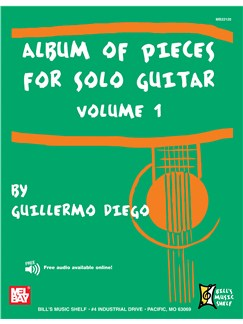 Album of Pieces for Solo Guitar, Volume 1 Books | Guitar