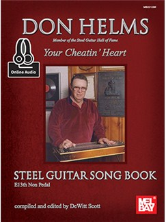 Don Helms: Your Cheatin' Heart - Steel Guitar Song Book (Book/Online Audio) Books and Digital Audio | Guitar
