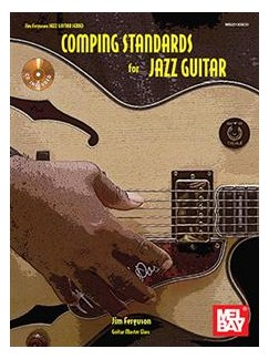 Jim Ferguson: Comping Standards For Jazz Guitar (Book/CD) Books and CDs | Guitar