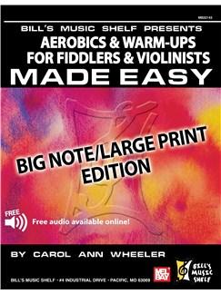 Aerobics & Warm-Ups for Fiddlers & Violinists Made Easy Books | Violin