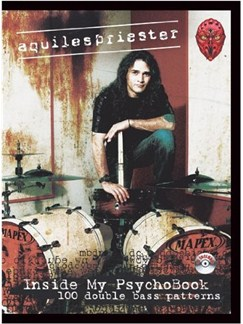 Aquiles Priester:  Inside My Psychobook Books and CDs | Drums