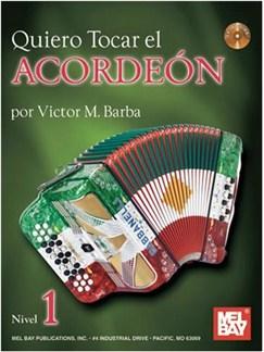 Quiero Tocar El Acordeon Books and CDs | Accordion