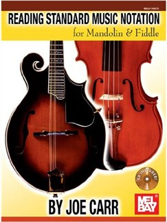 Reading Standard Music Notation for Mandolin & Fiddle Books and CDs | Violin