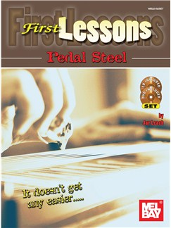 First Lessons Pedal Steel Books, CDs and DVDs / Videos | Guitar Tab, Pedal Steel
