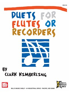 Duets for Flutes or Recorders Books   Flute