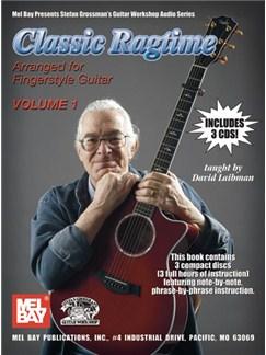 David Laibman: Classic Ragtime - Volume 1 Books and CDs | Guitar Tab, Guitar