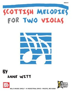 Scottish Melodies For Two Violas Books | Viola