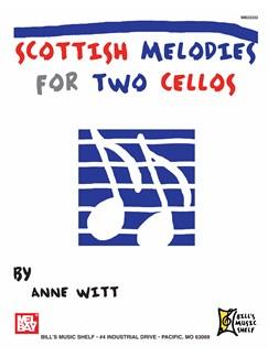 Scottish Melodies for Two Cellos Books   Cello
