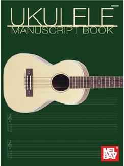 Uke Manuscript Book Books | Ukulele