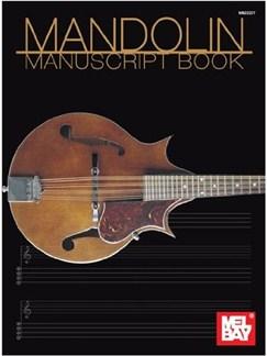 Mandolin Manuscript Book Books | Mandolin