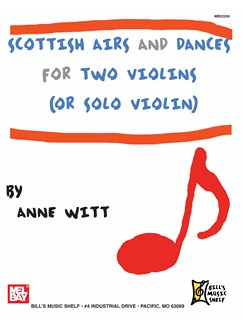 Scottish Airs and Dances for Two Violins Books | Violin