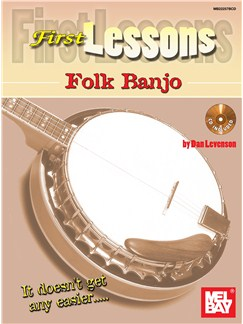 First Lessons Folk Banjo Books and CDs | Banjo, Banjo Tab