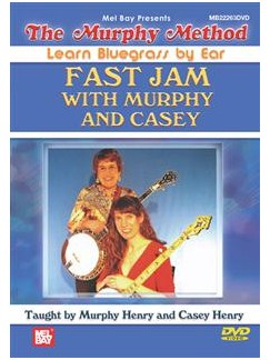 Learn Bluegrass By Ear: Fast Jam With Murphy And Casey  (DVD) CD-Roms / DVD-Roms |