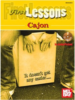 First Lessons Cajon Book/Cd Set Books and CDs | Cajon