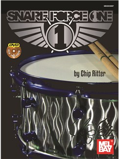 Chip Ritter: Snare Force One Books and DVDs / Videos | Drums