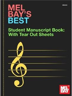 Mel Bay's Best Student Manuscript Book Books | All Instruments