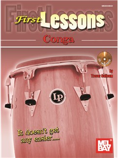 Trevor Salloum: First Lessons Conga Books and CDs | Congas