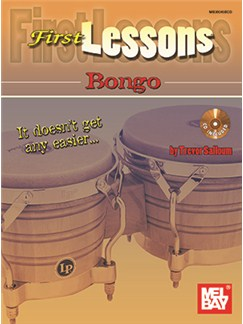 Trevor Salloum: First Lessons Bongo Books and CDs | Bongos