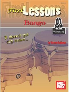 Trevor Salloum: First Lessons Bongo (Book/Online Audio) Books and Digital Audio | Bongos