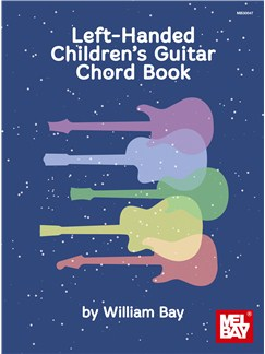 Left-Handed Children's Guitar Chord Book Books | Guitar