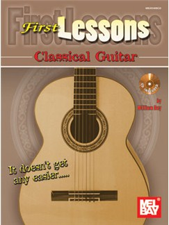 William Bay: First Lessons - Classical Guitar (Book/CD) Books and CDs | Classical Guitar