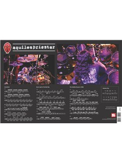 Aquiles Priester Wall Chart  | Drums