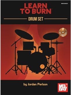 Jordan Perlson: Learn To Burn - Drum Set Books and CDs | Drums