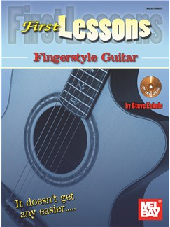 Steve Eckels: First Lessons Fingerstyle Guitar Books and CDs | Guitar, Guitar Tab