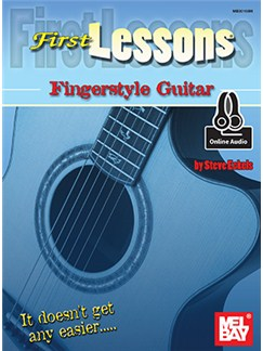 Steve Eckels: First Lessons Fingerstyle Guitar (Book/Online Audio) Books and Digital Audio | Guitar