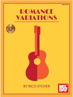 Rico Stover: Romance Variations Books and CDs | Classical Guitar, Guitar