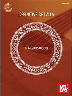 Definitive De Falla (Book/CD Set) Books and CDs | Classical Guitar