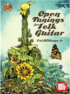 Open Tunings For Folk Guitar (Book/CD Set) Books and CDs | Guitar