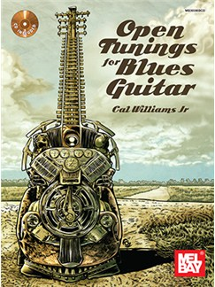 Open Tunings For Blues Guitar: Book And CD Books and CDs | Guitar