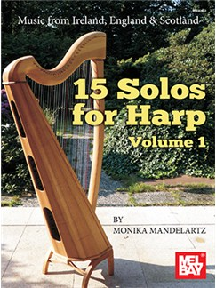15 Solos For Harp: Volume 1 Books | Harp