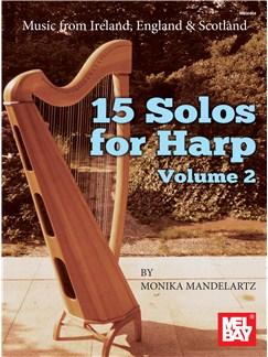 Monika Mandelartz: 15 Solos For Harp Volume 2 Books | Harp