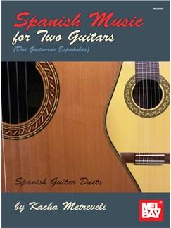 Kacha Metreveli: Spanish Music For Two Guitars Books | Guitar (Duet)
