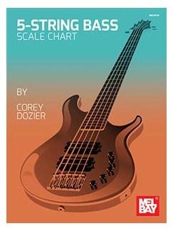 Corey Dozier: 5-String Bass Scale Chart    Bass Guitar