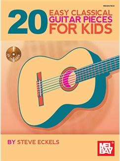 20 Easy Classical Guitar Pieces For Kids (Book/CD Set) Books and CDs | Classical Guitar