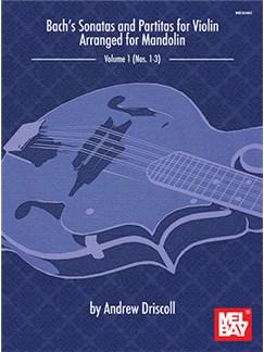 Arr. Andrew Driscoll: Bach's Sonatas And Partitas For Solo Violin Arranged For Mandolin Books | Mandolin