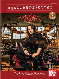 Aquiles Priester: The PsychOctopus Play Along (Book/CD) Books and CDs | Drums
