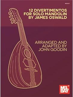 James Oswald: 12 Divertimentos For Solo Mandolin Books | Mandolin