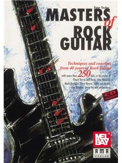 Masters Of Rock Guitar (Book and CD) Books | Guitar