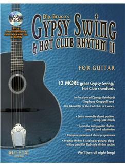 Gypsy Swing & Hot Club Rhythm II For Guitar Books and CDs | Guitar, Guitar Tab