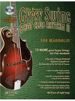 Gypsy Swing & Hot Club Rhythm II For Mandolin Books and CDs | Mandolin