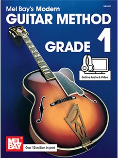 Mel Bay's Modern Guitar Method: Grade 1 (Book/Online Media) Books and Digital Audio | Guitar