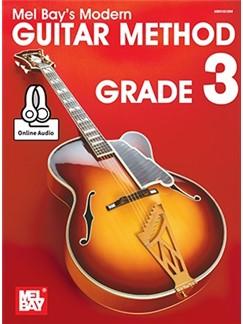 Mel Bay's Modern Guitar Method - Grade 3 (Book/Online Audio) Books and Digital Audio | Guitar