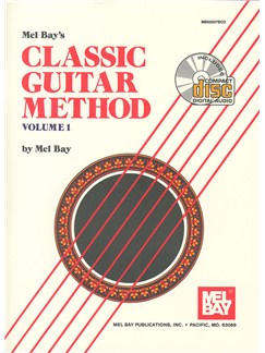 Classic Guitar Method, Volume 1 Books and CDs | Guitar