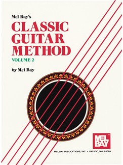 Classic Guitar Method, Volume 2 Books and CDs | Guitar